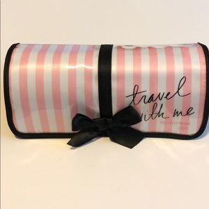 Victoria's Secret roll up travel makeup bag